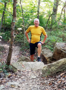 trail running perseverance to start again