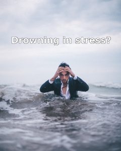 Drowning in stress