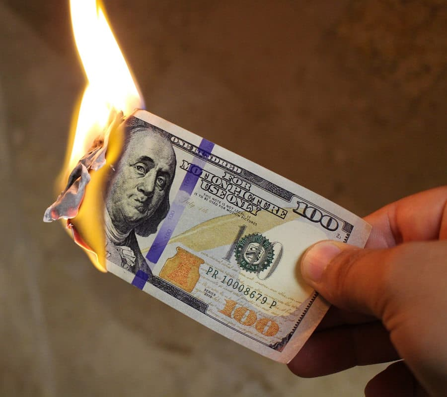 Burning money when your copywriting  and marketing don't give your small business the results you need.